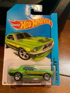 2015 Hot Wheels HW City '67 Ford Mustang Coupe #93
