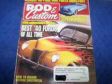 Rod & Customs  Magazine, Hot Rod,Rat Rod.Back Issue Sept. 2000