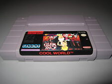 Cool World Super Nintendo SNES Super NES Cleaned & Tested