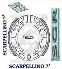 COPPIA GANASCE FRENO KYMCO DJX 50 cc dal 1991 -PAIR OF SHOES- SGR 655219