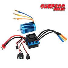 3650 Sensorlos Brushless Motor 4370KV+45A ESC für 1/10 RC Auto Car Offroad DEW