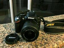 Nikon D3200 24.2 MP Digital SLR - w/ AF-S DX VR18-105mm Lens+BAG+32gb MEMORY!
