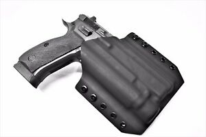 Kydex Holster for CZ SP-01 Shadow with TLR- OWB Kydex Holster