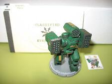 =Mechwarrior HIGHLANDERS Kava Graves 151 Thor with dossier 17 =