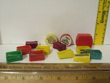Vintage Lot Various Advertising/Other Plastic Pencil Sharpeners