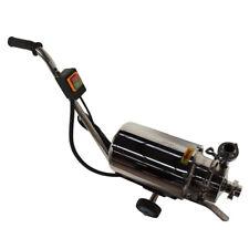 110v Portable Food Grade Centrifugal Pump Sanitary Beverage Pump 3 Tonh
