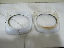 Vintage Pair of 1961-1966 Ford Truck Headlight Bezels