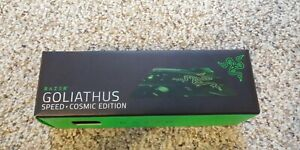 RAZER Goliathus Mousepad, Speed Cosmic Edition, Small Gaming Mouse Mat, (Green)