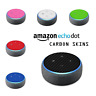 Amazon ECHO DOT 3rd Gen Generation Alexa CARBON Fiber 3D Skin Wrap Cover Decal 3