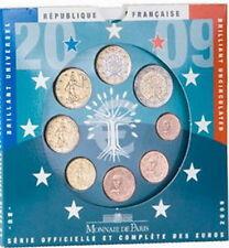 FRANCE EURO ANNEE 2009 QUALITE B.U  BLISTER NEUF
