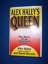 Queen by Alex Haley & David Stevens, Hard Cover 1st Ed., 1993, Dust Jacket
