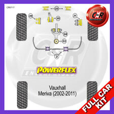 Vauxhall / Opel Meriva Not 1.4-1.8 Petrol (02-11) Powerflex Complete Bush Kit