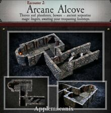 Dwarven Forge Arcane Alcove Dungeons of Doom 2018 w/Painted-Magnets - D&D Tiles
