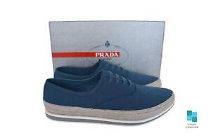 New in Box Authentic PRADA Mens Shoes Sz US13 EU46 UK12 Model 4E3114