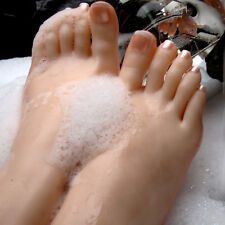 Un Silicone gauche ou droite réaliste pieds jambes femme Mannequin modèle d'