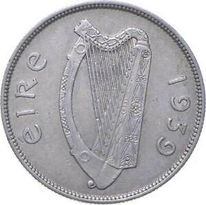 Better - 1939 Ireland 1/2 Coroin - TC *552