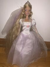 Barbie Rapunzel's Wedding Doll Light-up Crown! 2005 Mattel J1014