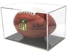 Ballqube Grandstand Full Size Football Display Holder - 98% Uv Protection