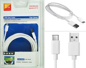 Qualité Premium Type C 3.1 USB 2.0 Neuf Authentique Données Câble Chargeur 1M 2M
