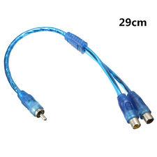 1 RCA Macho A 2 Hembra Divisor Audio Estéreo Cable Adaptador Conector ppppp