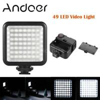 Dimmable Camera Video Lighting LED Light Panel for Sony A7 DSLR Canon Nikon DSLR