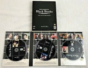 Black Books - The Complete Collection (DVD, 2011, 3-Disc Set) Comedy Free Post