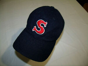 VTG Salem Red Sox MiLB Hat SPORTS SPECIALTIES 643 30% Wool Fitted Size 7 Boston