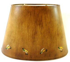 "Judith Edwards 1748 Fly Fishing Lamp Shade 8"" x 8-1/2"" x 13"""