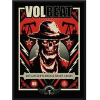 Volbeat Ghoul Frame Patch Official Heavy Metal Rock Band Merch New
