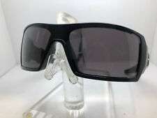 AUTHENTIC OAKELY SUNGLASSES OIL RIG OO9081 03-460 POLISHED BLACK WARM GREY