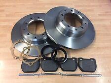 Defender 90 2.5 Td5 Front Rear Brake Pads Discs Set 298mm 291mm 120 98 Pickup