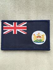 Hong Kong, Colony of Great Britain Flag Embroidered Emblem TRF/Patch/Badge Large
