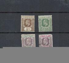 Used Single Leeward Islands Stamps