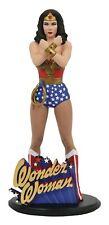 Dc Gallery Wonder Woman 9-Inch Pvc Statue [Linda Carter Version]