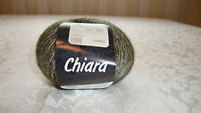 1 Ball Lana Grossa Chiara Nylon Yarn # 013 Gray NEW