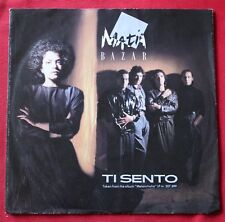 Matia Bazar, ti sento / i feel you, SP - 45 tours