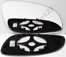 Right Driver Side Wing Mirror Glass HEATED Vauxhall Vectra C 2002-2008
