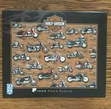 Fx Schmid Puzzle 1000 Piece Harley Davidson Motercycle
