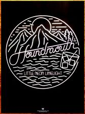 HOUNDMOUTH Little Neon Limelight Ltd Ed RARE HUGE Poster +FREE Rock Indie Poster