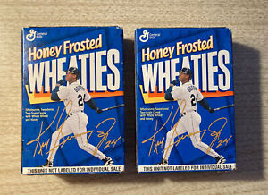 (2) KEN GRIFFEY JR Collectible Boxes SEALED w/ Wheaties Cereal. These are nice!
