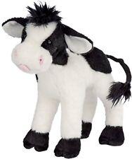 "Plush Sweet Cream Cow 8"""
