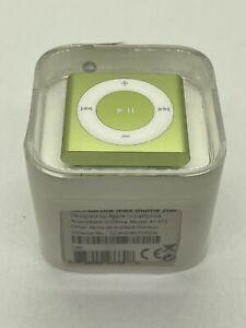 Apple iPod Shuffle 4. Generation Green 2GB 2010 Model MC750 Collectors
