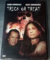 Trick or Treat ( DVD, 2003 )  Gene Simmons & Ozzy Osbourne / NTSC / Region 1