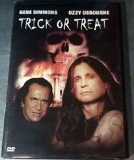 Trick or Treat (DVD, 2003)  Gene Simmons & Ozzy Osbourne / NTSC / Region 1