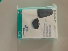 Logitech - Wireless Bluetooth Speaker Adapter - Black New Sealed Fast shipping!