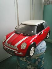 Large model mini cooper 28 x 9 x 10 inches classic red detailed model