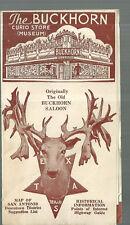 Brochure for Buckhorn Curio Store San Antonio Texas