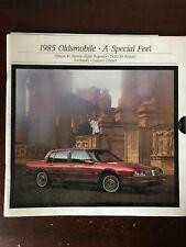 Vintage 1985 Oldsmobile Album #1 36-page Large Color Catalog: A Special Fleet