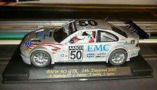 BMW M3 GTR FLY 88009 A285 #50 EMC2 24H Daytona 2002 slot car 1/32 new nuova