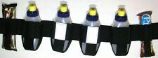 Gel Race Belt incl. 4 bottles + 2 bar & Key Elastic Pockets nutrition sz Large